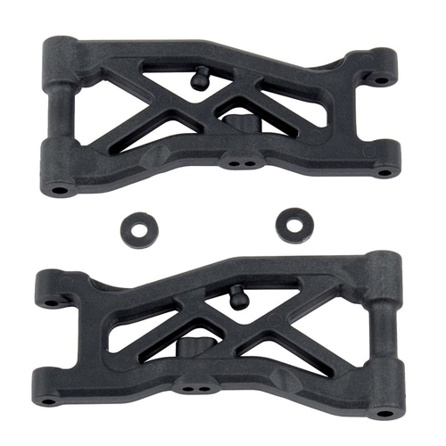 AA92129 RC10B74 Front Suspension Arms, hard