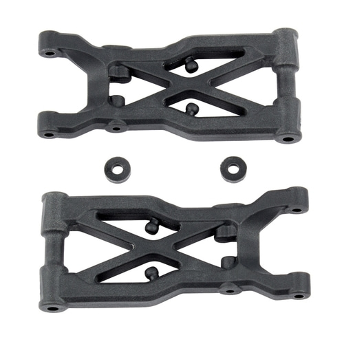 AA92131 RC10B74 Rear Suspension Arms, hard