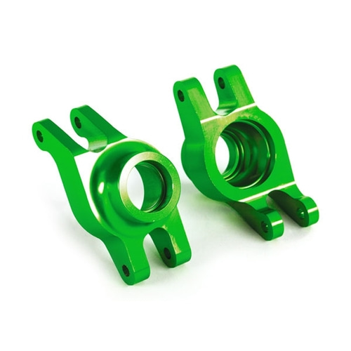 AX8952G Carriers, stub axle (green-anodized 6061-T6 aluminum) (rear) (2)