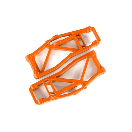 AX8999T Suspension arms, lower, orange (left and right, front or rear) (2) (for use with #8995 WideMAXX™ suspension kit)