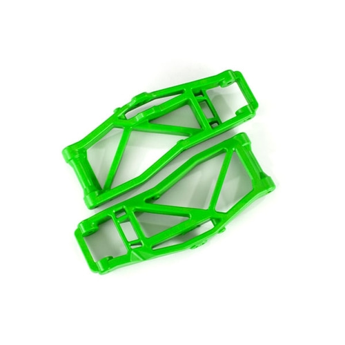 AX8999G Suspension arms, lower, green (left and right, front or rear) (2) (for use with #8995 WideMaxx™ suspension kit)
