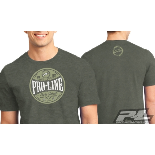 AP9839-01 Pro-Line Hot Rod Green T-Shirt Medium