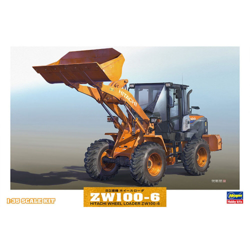 BH66004 1/35 Hitachi Construction Machinery Wheel Loader ZW100-6-데칼 및 설명서 손상