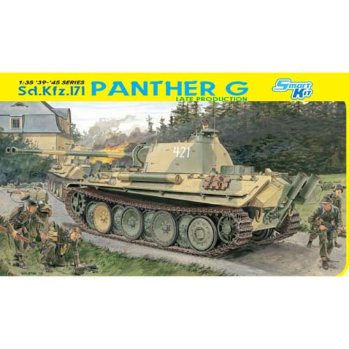 BD6268 1/35 Sd.Kfz.171 Panther G Late Production-매직 트랙 포함