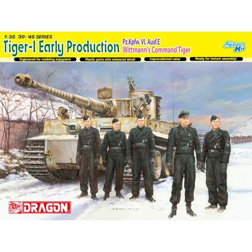 BD6730 1/35 Tiger I Early Production(Michael Wittmann) Eastern Front 1944 - Smart Kit (인형 미포함)