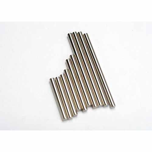 AX5521 Suspension pin set complete (hardened steel front & rear)
