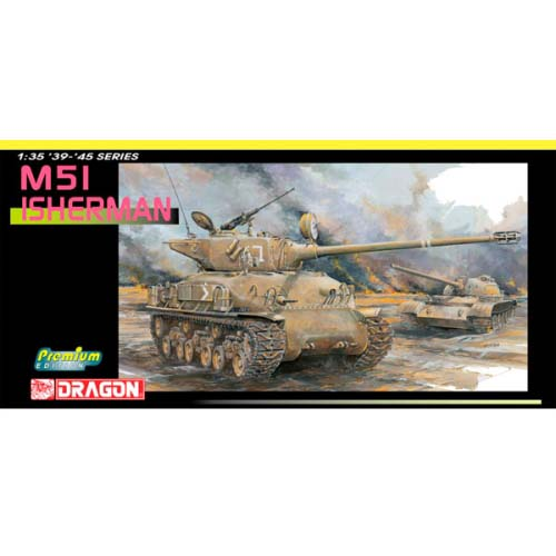 BD3539 1/35 M51 ISherman Israel Defense Force ~ Premium Edition