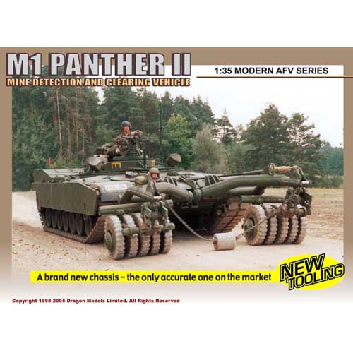 BD3534 1/35 M-1 Panther II-박스 손상
